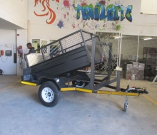 Trailrite tipper trailer 1