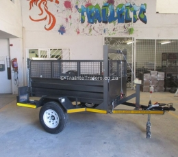 Trailrite tipper trailer