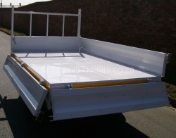 1 Ton dropside commercial trailers
