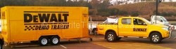 Brand Promotional commercial Trailer from side