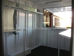 Food Trailer Mobile Kitchen Trailer Vending trailer Concession Trailer inside